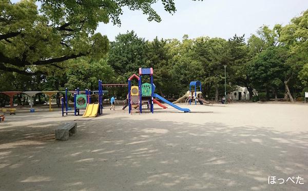 水遊び,鶴舞公園